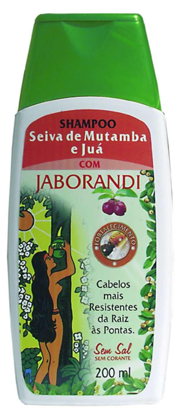 Shampoo Jaborandi Seiva de Mutamba e Juá